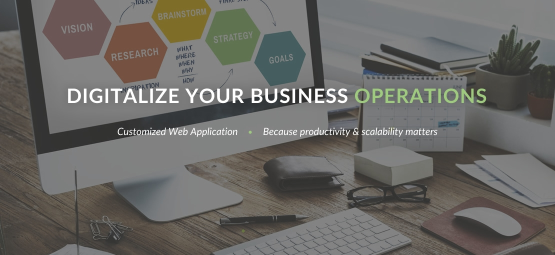 Digitalize Your Business Operations